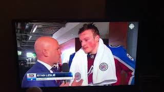 Cale Makar interview on CBC