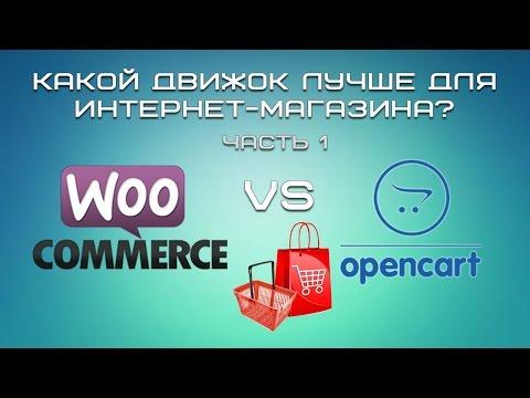 WordPress + WooCommerce или Opencart? Какой движок лучше для интернет-магазина?