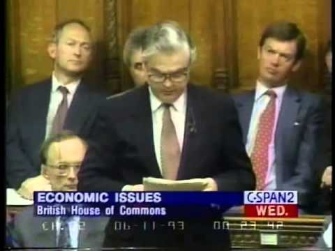 Norman Lamont Resignation Speech