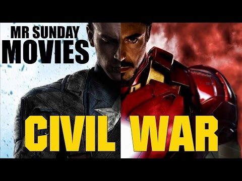 Top 3 Reasons CIVIL WAR Will Be Awesome