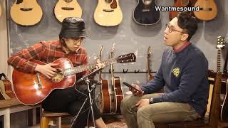 Eastman E10OOSS/V 보컬테스트 보컬 김성환 기타 조일건 / 원미사운드