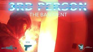 """Cheb - Outpost """"The Basement"""" 3rd person magfed Paintball"""