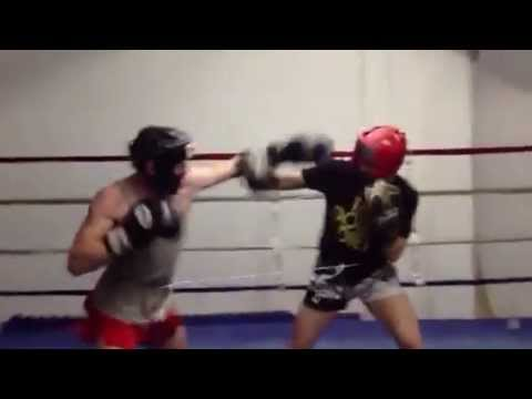Muay Thai Sparring Drills - Rope Boxing Image 1