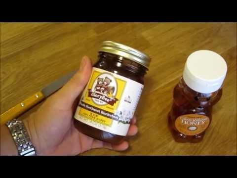 GloryBee Raw Buckwheat Honey - sweet malty goodness for health