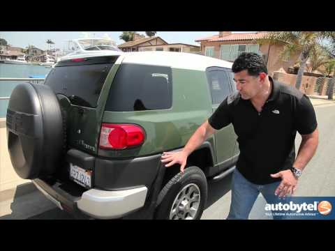 2012 Toyota FJ Cruiser Test Drive & SUV Video Review