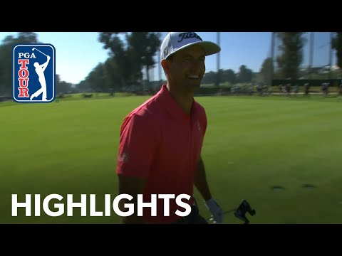 Adam Scott's winning highlights from The Genesis Invitational 2020