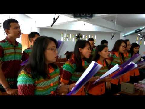 Lagu Pernikahan - Hosanna Puji Alleluia - Harmony Choir - KLATEN