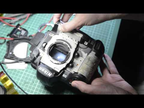 Nikon D3 repair attempt Part 1