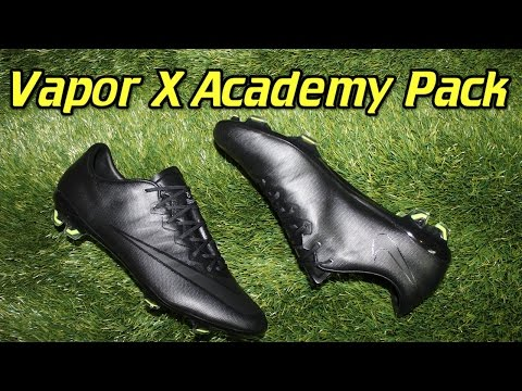 Nike Mercurial Vapor 10 Academy Pack (Blackout) - Review + On Feet