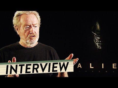 RIDLEY SCOTT Interview For ALIEN COVENANT