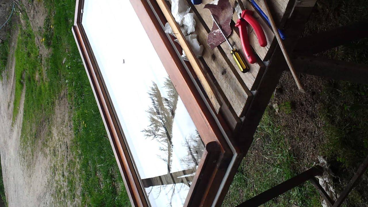 Montare doppi vetri fai da youtube - Vetri doppi per finestre ...
