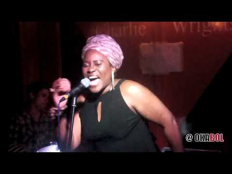 [okabol.com] Coco Mbassi live at Charlie Wrights - 17th July 2013