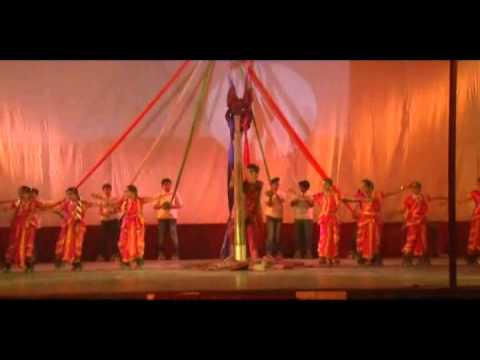 Brain International School, Vikaspuri  Annual Day 2012-13 Vande Matram video