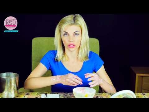 Питание, увлажнение и отбеливание кожи рук (клубника, сметана)