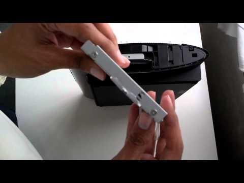 Sostituzione Hard Disk PS3 12gb senza la slitta porta HD ufficiale