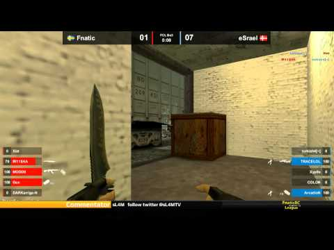 CS 1.6 FCL - fnatic vs. eSrael @ train