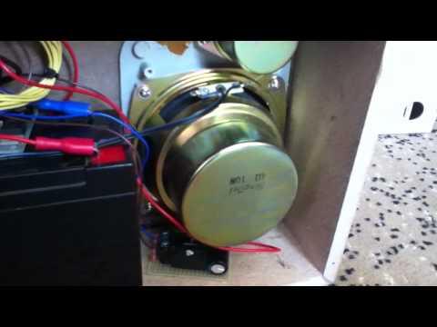 """Hand made boombox """"Vega 328 stereo"""" inside"""