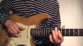 Mark Knopfler licks using the 7/9 chord by Ingo Raven