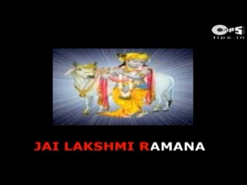 Jai Lakshmi Ramana Aarti by Hari Om Sharan - With Lyrics - Satyanarayan...