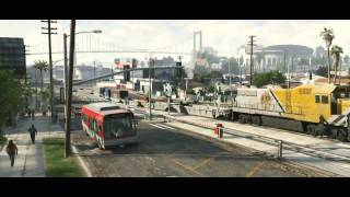GTA 5 Trailer No. 2 First on YouTube- Grand Theft Auto V- Official Trailer #2 (HD)- November 14 2012
