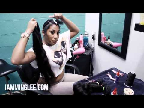 How To Do A Quick Weave (pronto)  iamminglee video