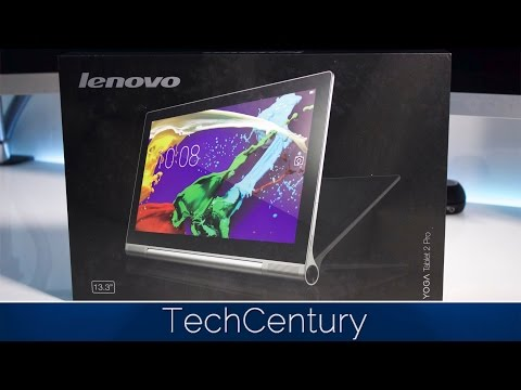 Lenovo Yoga Tablet 2 Pro Unboxing and First Look (13' + Projector)