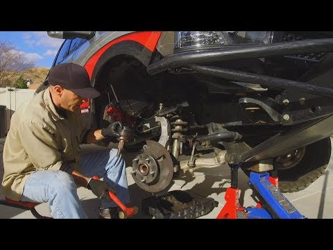 Front CV Axle Repair on the Dodge Ram Truck and Damage Report