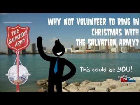 Windsor Christmas Kettle Volunteer Recruitment - 2015