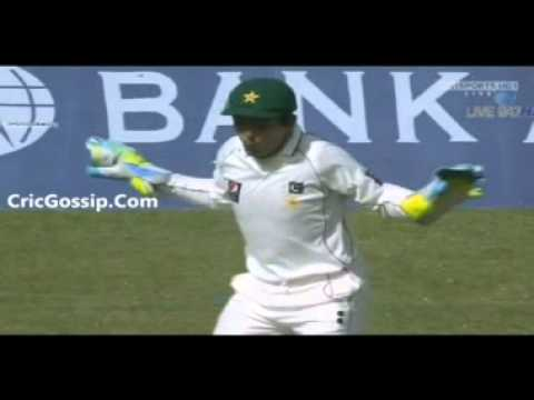 Adnan Akmal Chicken Dance Vs England In 3rd Test 2012 '' By Rehan Siddiqui''