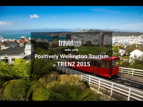Speaking to Positively Wellington Tourism at TRENZ 2015