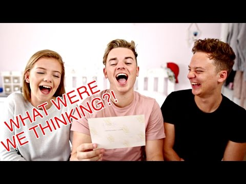 SIBLINGS REACT TO FAMILY PHOTOS