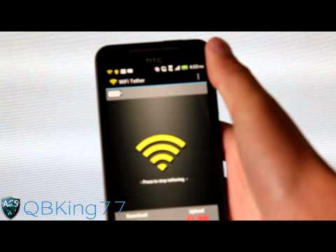 How to Get Free Wifi Tethering / Hotspot on the Sprint HTC EVO 4G LTE