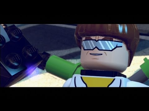 LEGO Marvel Super Heroes Walkthrough Part 2 - Times Square Off