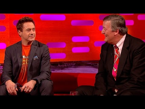 Robert Downey Jr. and Stephen Fry discuss baby names – The Graham Norton Show: Series 16 – BBC