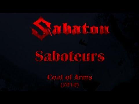 Sabaton - Saboteurs