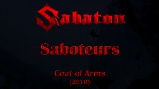 Watch Sabaton Saboteurs video