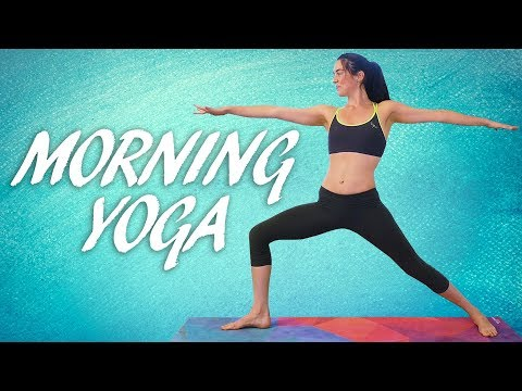 ♥ Good Morning Yoga with Julia ♥ Beginners Workout for Energy, Flexibility, Weight Loss, 20 Minute