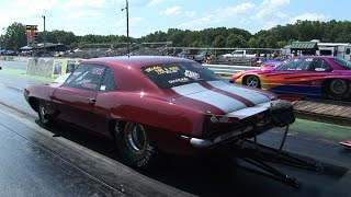 Heads Up DRAG RACING and MASSIVE Oildown
