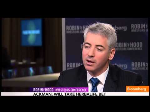 Bill Ackman Robin Hood Conference Bloomberg Interview Part 1