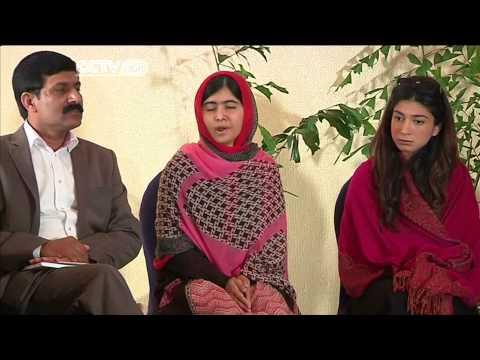 Malala Yousafzai meets Nigerian President over Chibok Girls