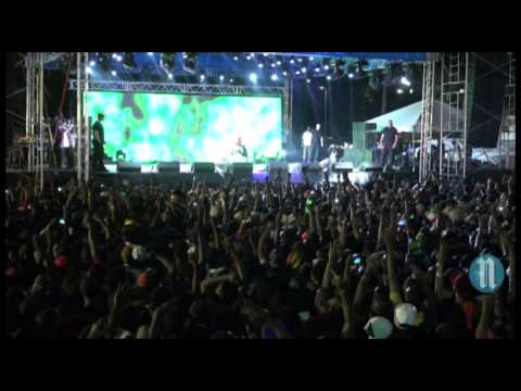 Chris Brown live en Haiti