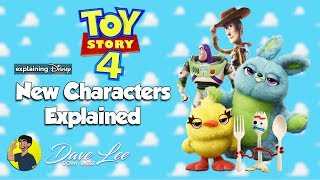 TOY STORY 4 - Who Are The New Characters? Explained