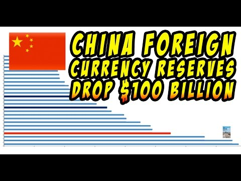 China's Currency Reserves Plunged! U.S. Dollar Reserve Currency Status Threatened!
