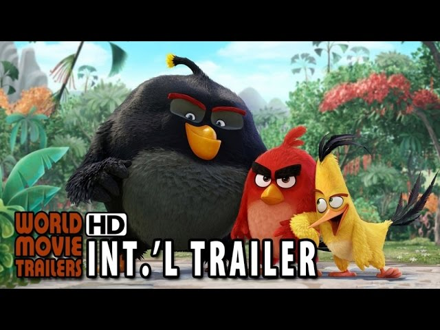 The Angry Birds Official International Trailer (2016) HD
