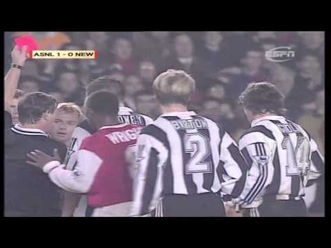 Arsenal 2-0 Newcastle, League Cup 1996 (Bruce Rioch v Terry McDermott)