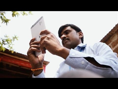Banking on Tablets in Rural India