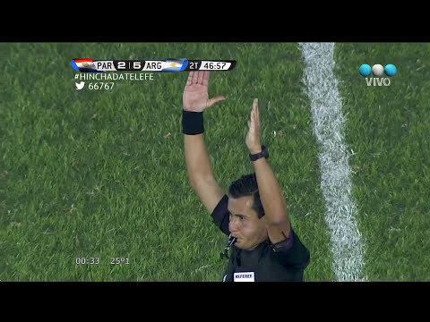 Paraguay 2 vs Argentina 5 - Eliminatorias Brasil 2014 - HD FULL - Fecha 16