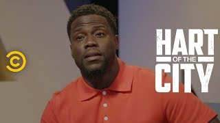 Kevin Hart Surprises Three Cleveland Comics with Kym Whitley