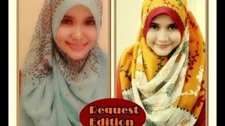 Pashmina Hijab Tutorial For Casual and Formal | Running Ramdhan - Part #17