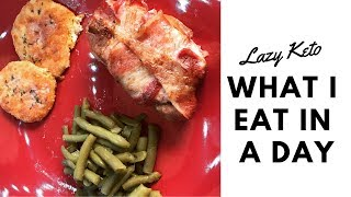 What I Eat In A Day (Lazy Keto) | Dinner Fail
